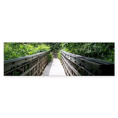 Bridge in the Bamboo Forest Bumper Stickers