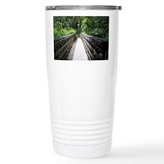 Bridge in the Bamboo Forest Travel Mug