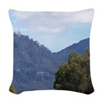 Monserrate, Colombia Woven Throw Pillow