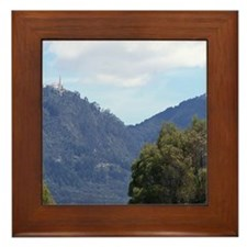 Monserrate, Colombia Framed Tile