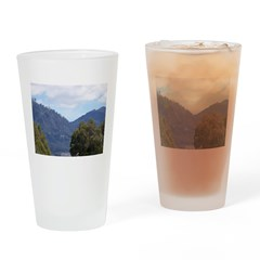 Monserrate, Colombia Drinking Glass
