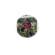 Rose in Chains Mini Button