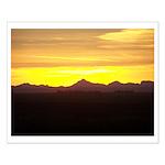 Alberta Sunset Small Poster