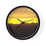 Alberta Sunset Wall Clock