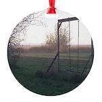 Evening Swing Round Ornament