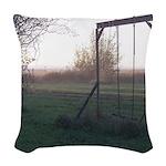 Evening Swing Woven Throw Pillow