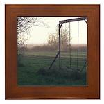 Evening Swing Framed Tile