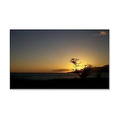 Maui Sunset Decal Wall Sticker