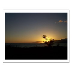 Maui Sunset Small Poster