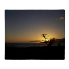 Maui Sunset Throw Blanket