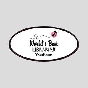 World's Best Librarian Patches