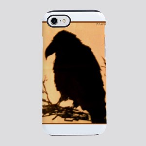 Raven, crow, bird art! iPhone 7 Tough Case