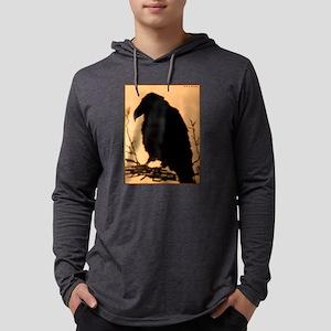 Raven, crow, bird art! Long Sleeve T-Shirt