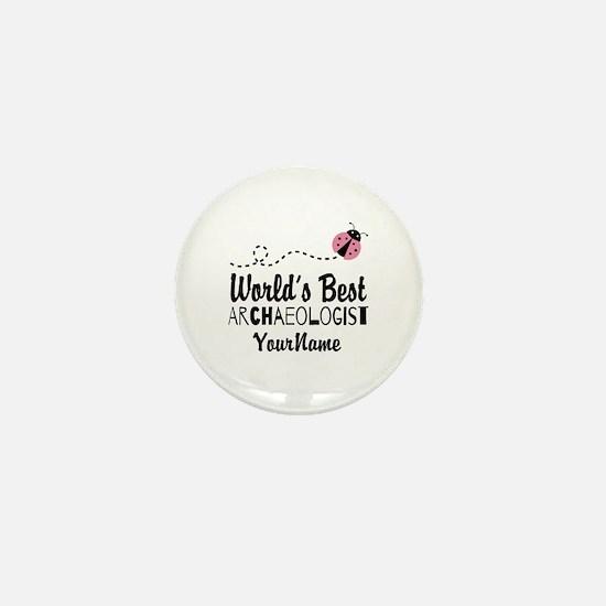 World's Best Archaeologist Mini Button