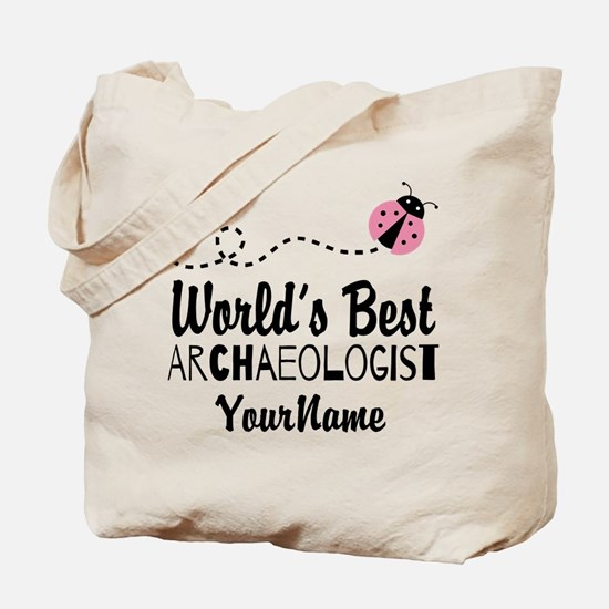 World's Best Archaeologist Tote Bag