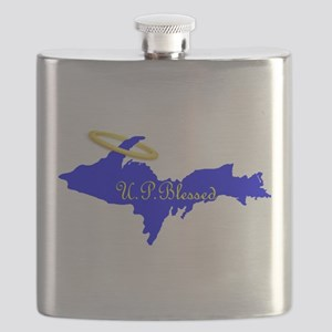 U.P. Blessed w/Halo Flask