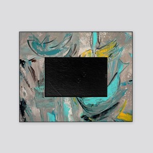 Modern Art in turquoise Picture Frame