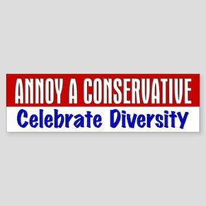 AAC Celebrate Diversity Bumper Sticker