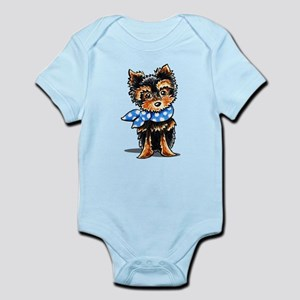 Cute Yorkie Drawing Baby Clothes Accessories Cafepress