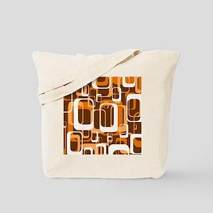 retro pattern 1971 orange Tote Bag