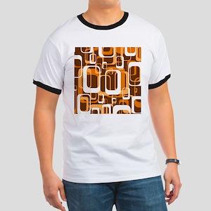 retro pattern 1971 orange T-Shirt