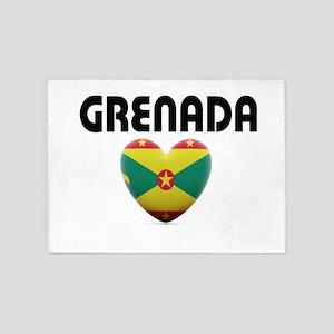 Grenada Love 5'x7'Area Rug