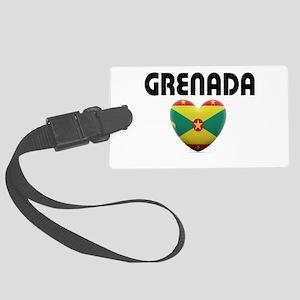 Grenada Love Luggage Tag