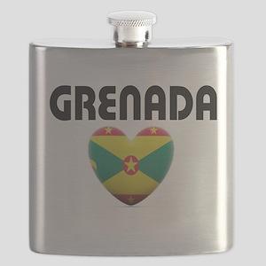 Grenada Love Flask