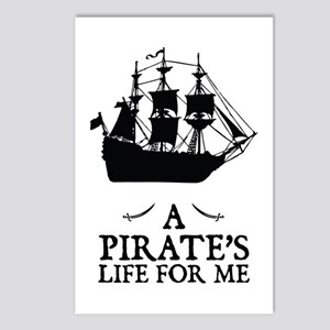 A Pirate's Life For Me Postcards (Package of 8)
