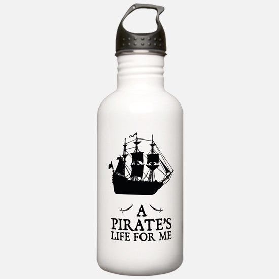 A Pirate's Life For Me Water Bottle
