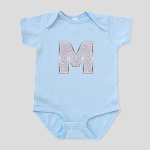 Sparkle Letter M Body Suit