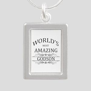 World's Most Amazing God Silver Portrait Necklace