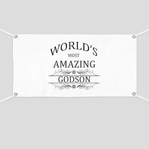 World's Most Amazing Godson Banner
