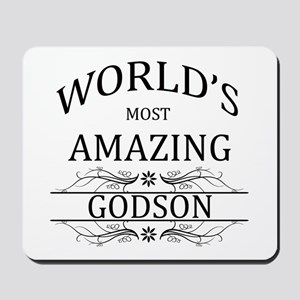 World's Most Amazing Godson Mousepad