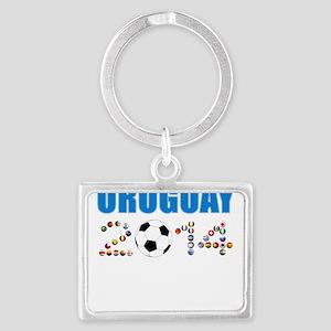Uruguay soccer futbol Keychains