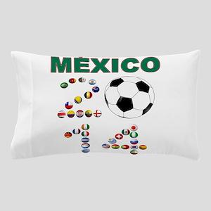 México futbol soccer Pillow Case