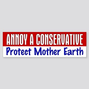 AAC Protect Mother Earth Bumper Sticker