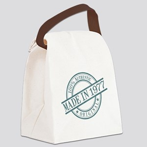 Made in 1977 Canvas Lunch Bag
