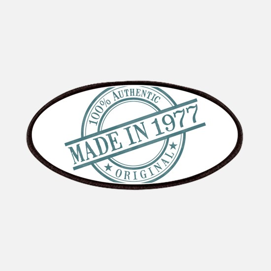 Made in 1977 Patches
