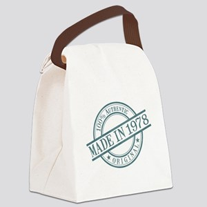 Made in 1978 Canvas Lunch Bag