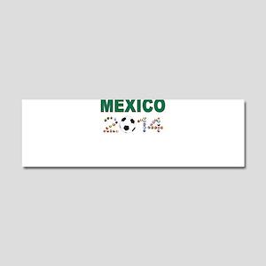 México futbol soccer Car Magnet 10 x 3
