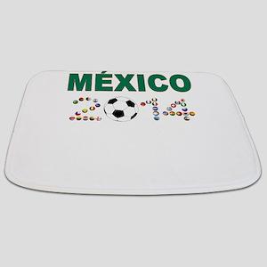 México futbol soccer Bathmat