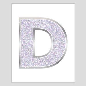 Sparkle Letter D Posters
