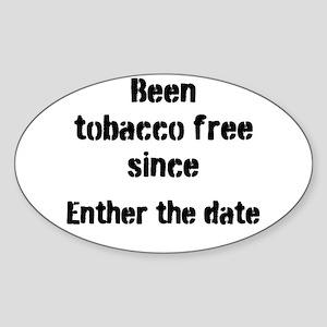 tobacco free Sticker