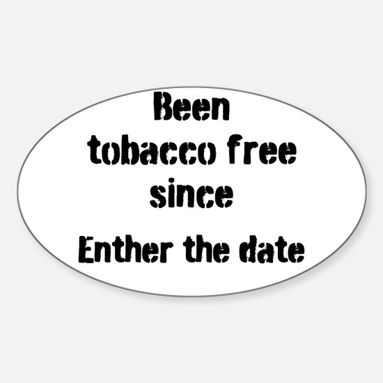 tobacco free Decal