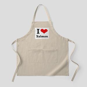 I love salmon  BBQ Apron