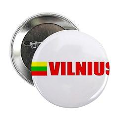 Vilnius, Lithuania Flag II Button