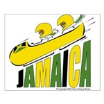 Jamaica Bobsled Small Poster