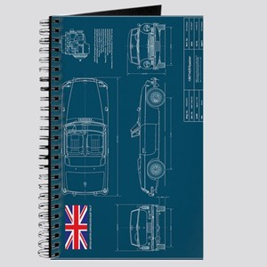 Blueprint gifts cafepress mgb blueprint journal malvernweather Image collections