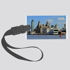 Liverpool Waterfront Large Luggage Tag